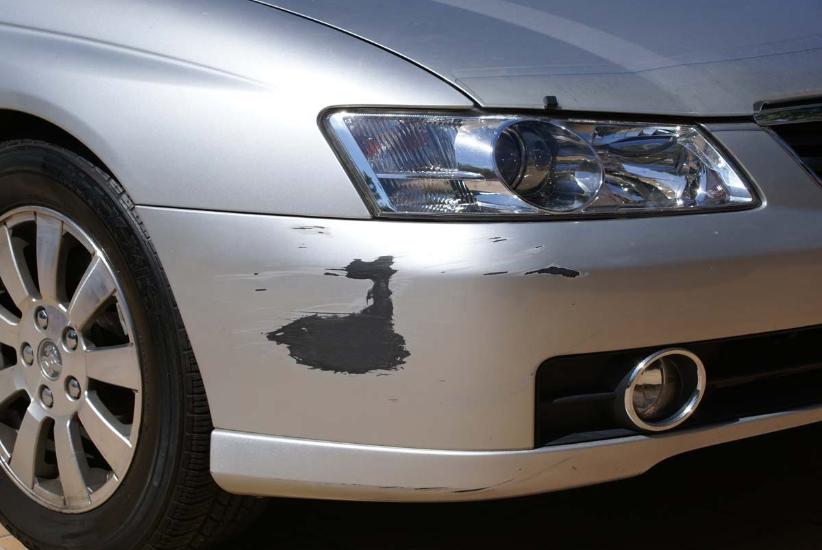 car paint scratch