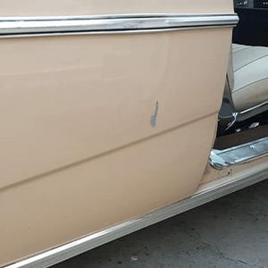 Car Door Panel Before Treatment